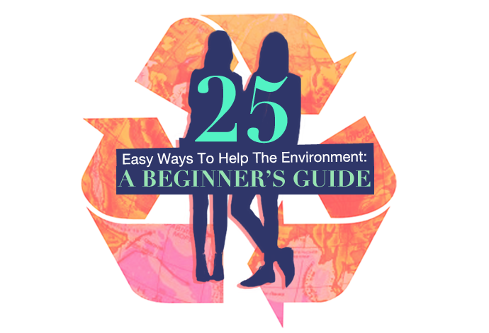 25 Easy Ways To Help The Environment: A Beginner's Guide