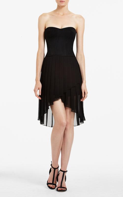 Bcbg Black Strapless Cocktail Dress – Gallery Fashion