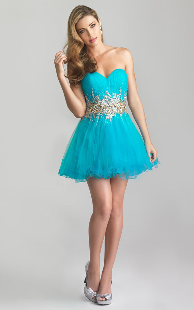 Turquoise Short Prom Dresses Cheap - Long Dresses Online