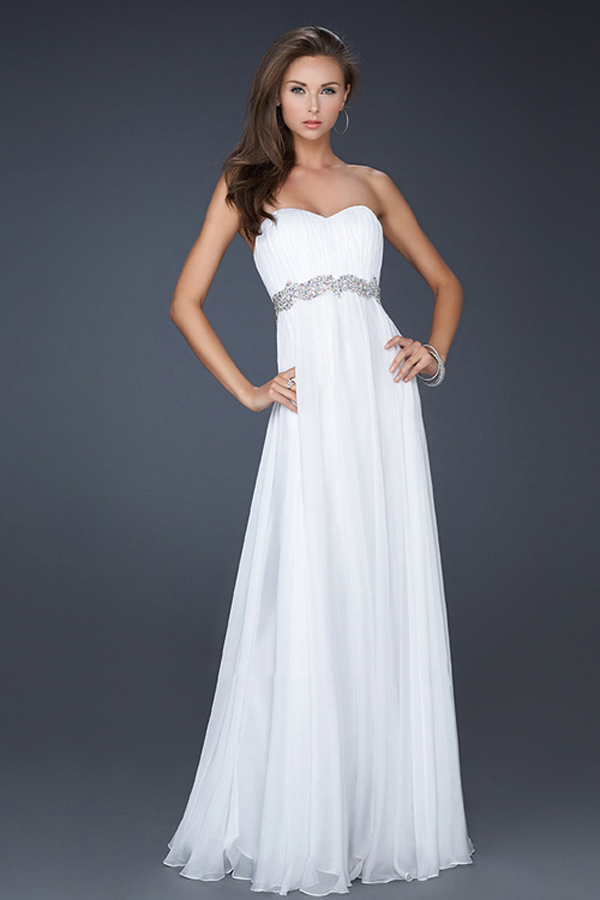 white-long-chiffon-prom-dress-2013-with-sequin-waistband-chiffon-prom ...