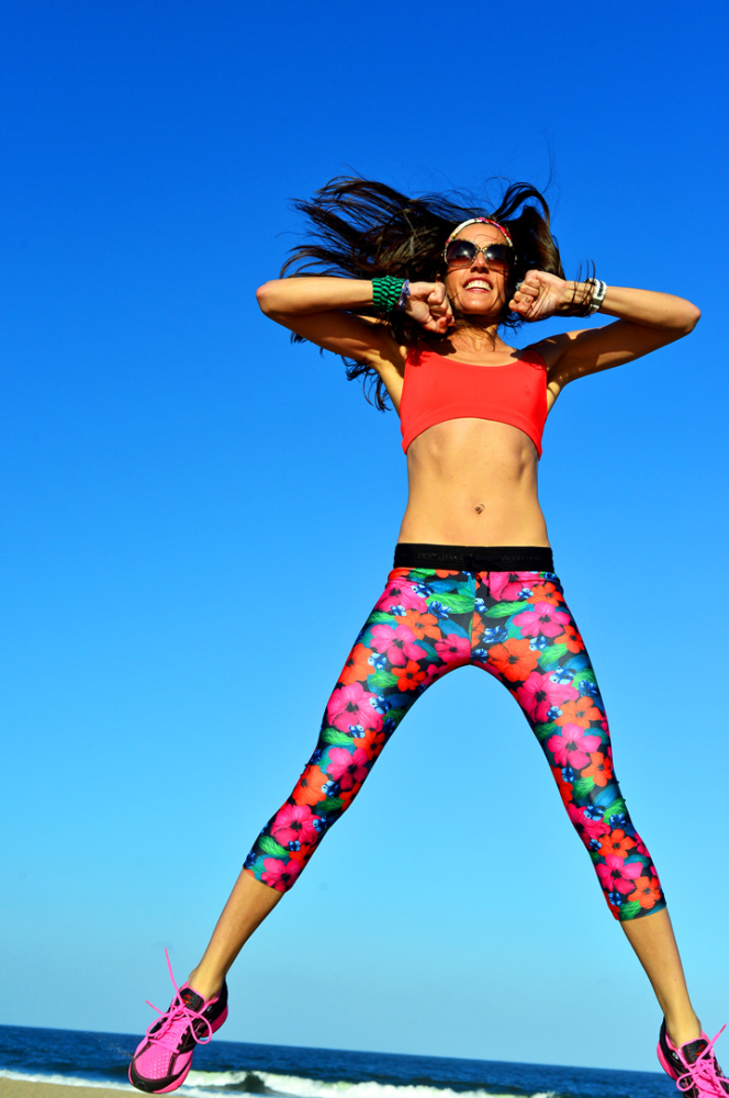 Flower Power! Girly Fitness gear on NYCPretty today!