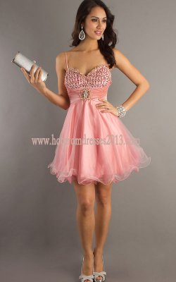 Related Keywords & Suggestions for Pink Short Prom Dresses With Straps