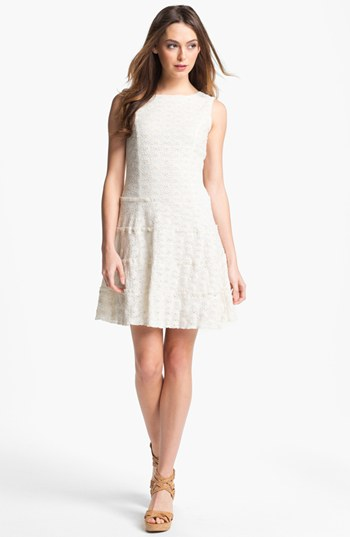 Label by 512 Lace Drop Waist Dress | Nordstrom | StyleCaster