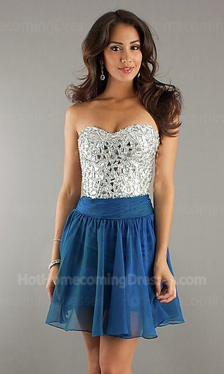 Slutty Prom Dresses for Pinterest Blue Gothic Prom Dresses