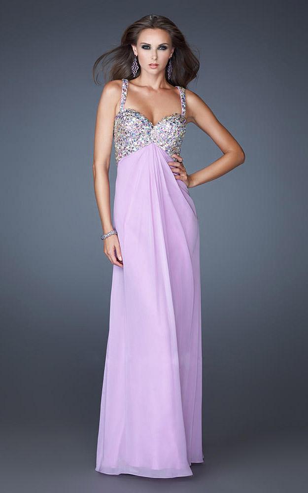 Lavendar Prom Dresses 95