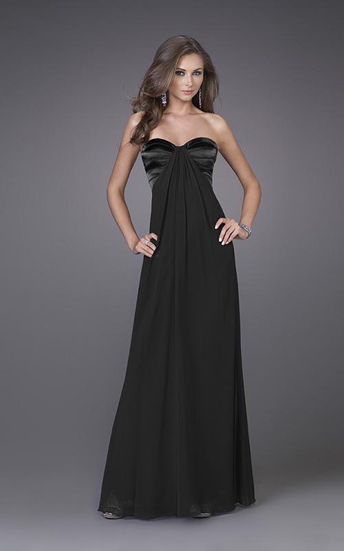 Black Strapless Prom Dresses Plus Size Prom Dresses