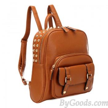 -retro-college-style-rivet-backpack-fashion-backpacks-fashion-bags ...