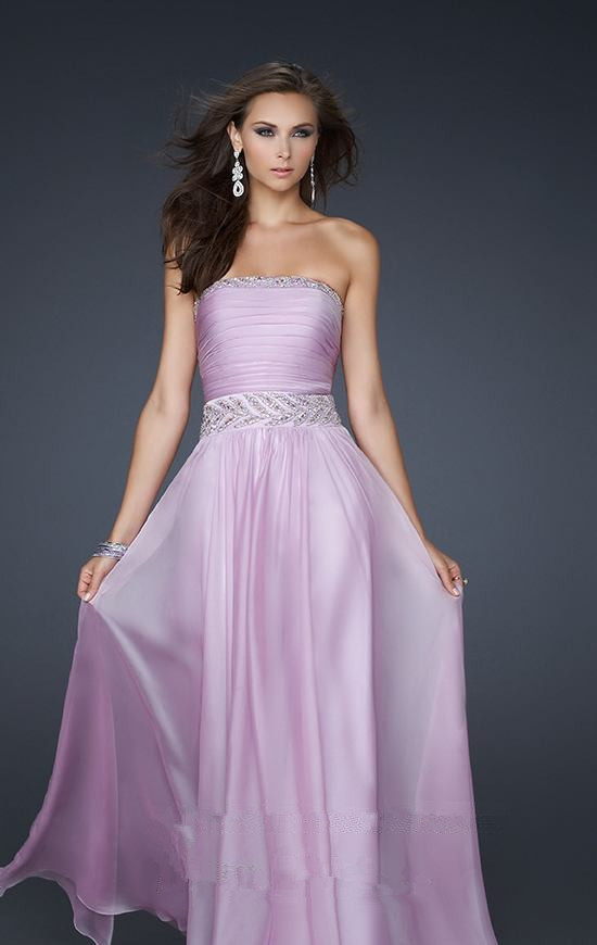 Pink Prom Dresses 2013 Cheap Long Pink...