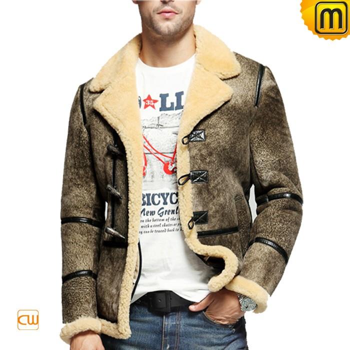 Men s cosimo sheepskin shearling jacket cw878123 stylecaster