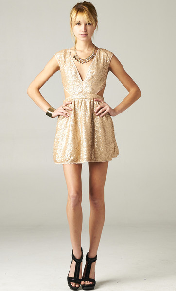 Download this Chandagne Sequin Dress... picture