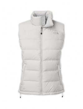 Cheap north face women s vest in white sale 79