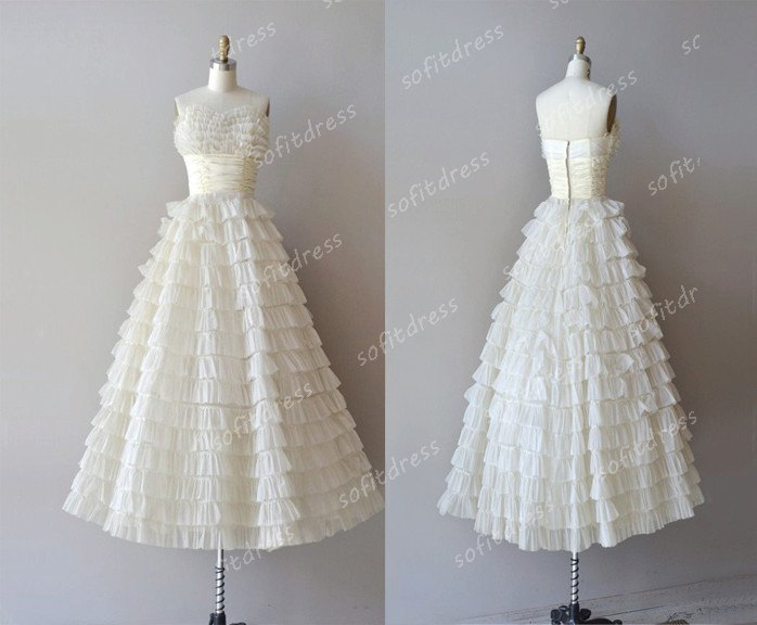 Ivory wedding dress unique wedding dresses stylecaster for Affordable unique wedding dresses