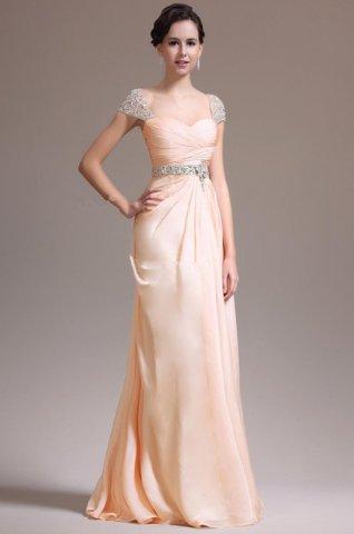 Mango Colored Prom Dresses - Boutique Prom Dresses
