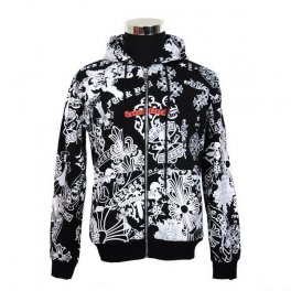 Chrome Hearts Black White Print Thin Jacket