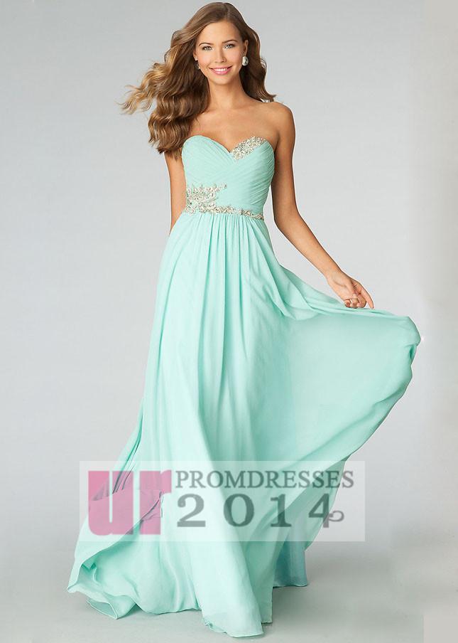 Floor Length Strapless Prom Dresses - Prom Dresses Cheap