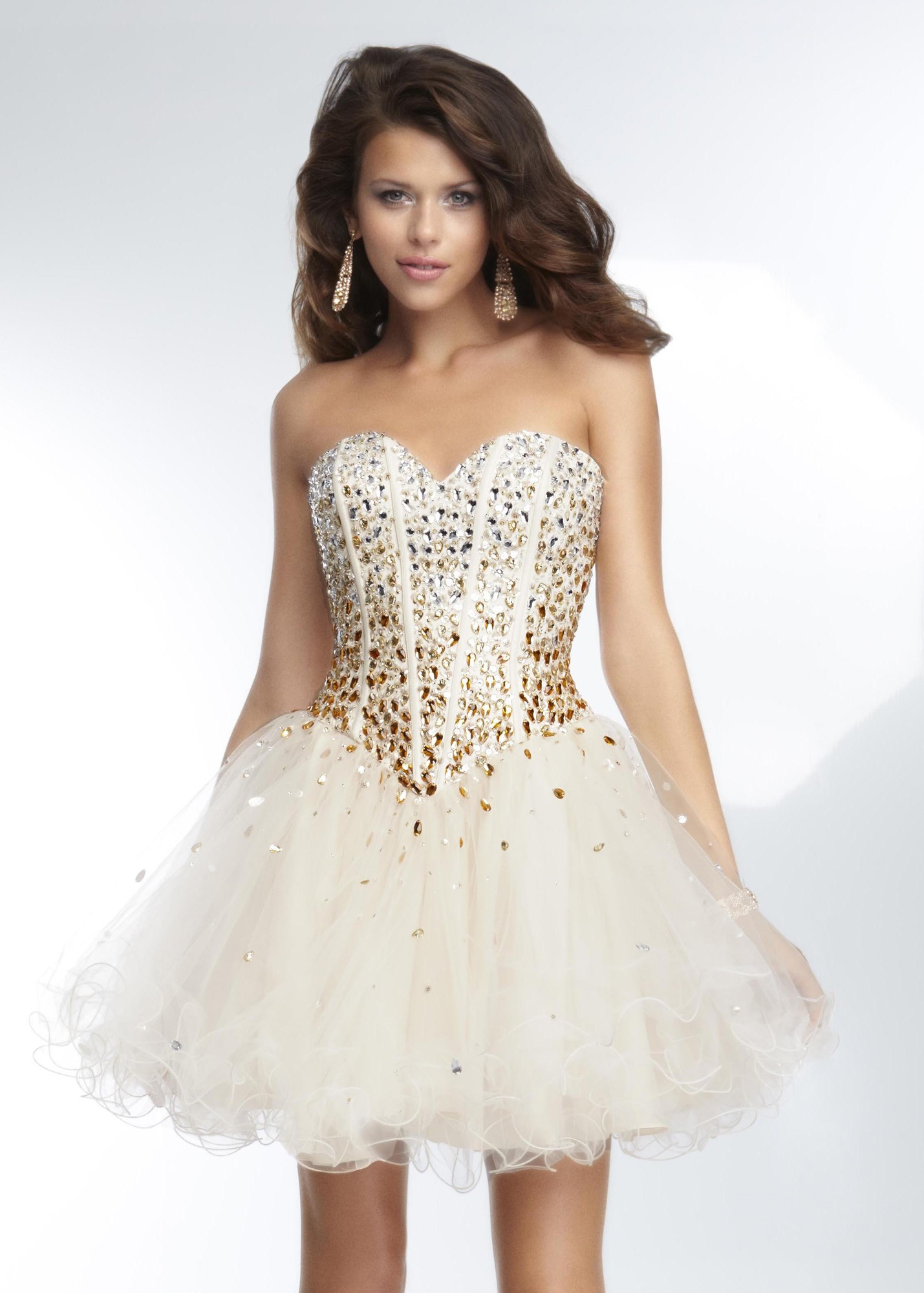 Corset Short Prom Dresses - Long Dresses Online