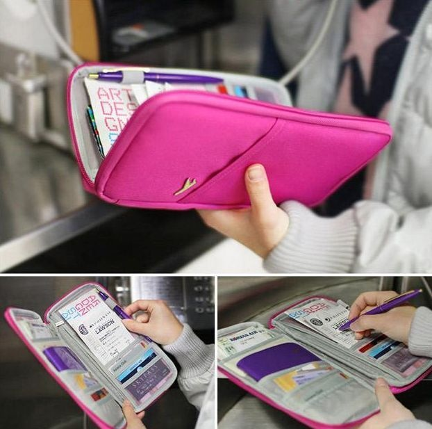 Multifunctional Ticket/Passport Holder