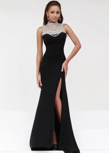Black Elegant Gown Photo Album - Reikian