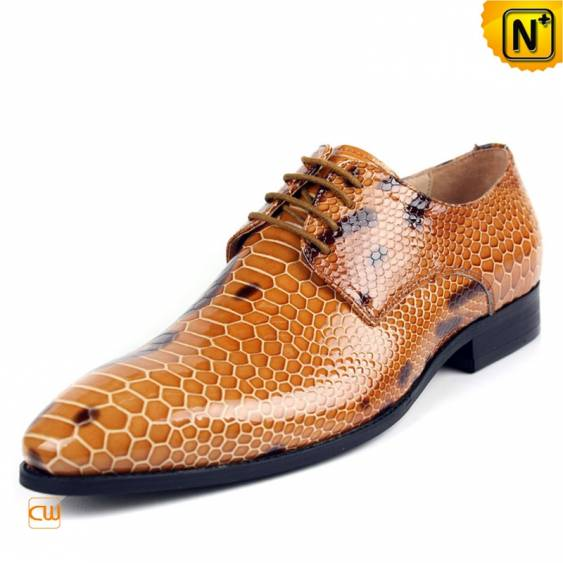 Our Italian leather designer lace-up dress shoes for men with