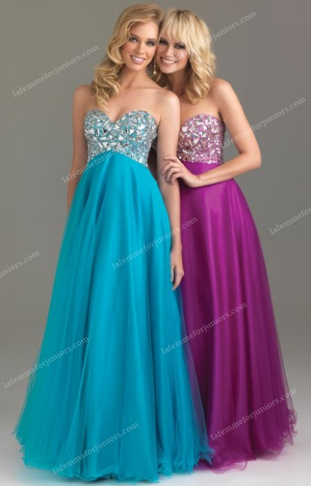 Empire Waist Night Moves 6411 Prom Long Dresses Discount Online