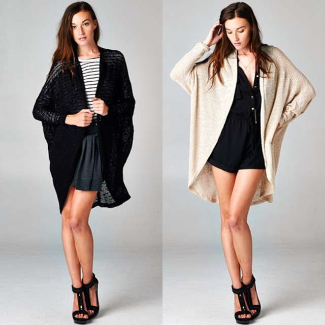 LONG KNIT CARDIGANS! WWW.SHOPPUBLIK.COM