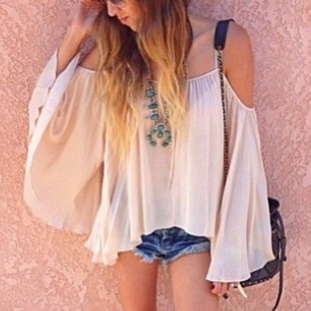 RUFFLED OFF SHOULDER SLEEVE TOPS! WWW.SHOPPUBLIK.COM