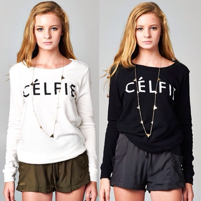 CELFIE SWEATERS! GET IT IN 2 COLORS AT WWW.SHOPPUBLIK.COM