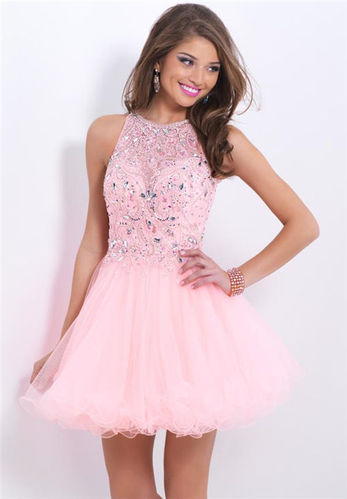 Images of Sparkly Homecoming Dress - Reikian