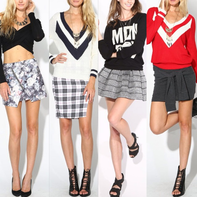 CHECK OUT ALL THE LATEST SKIRTS AVAILABLE NOW AT WWW.SHOPPUBLIK.COM