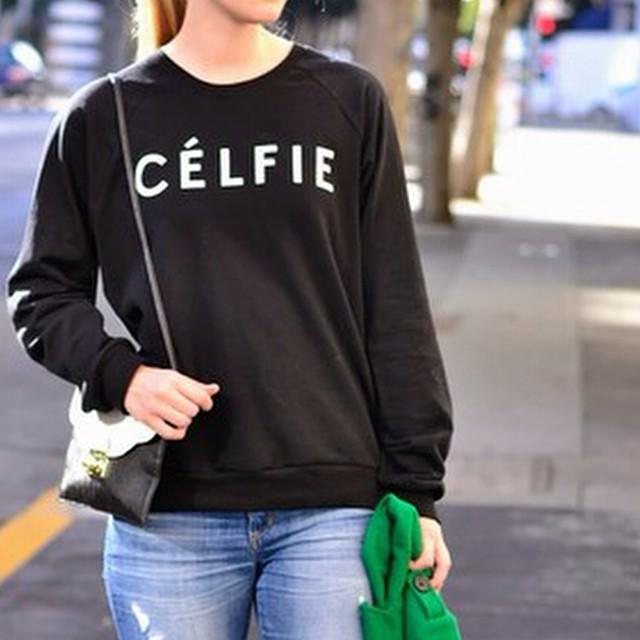 CELFIE SWEATERS IN BLACK! RESTOCKED! AT WWW.SHOPPUBLIK.COM