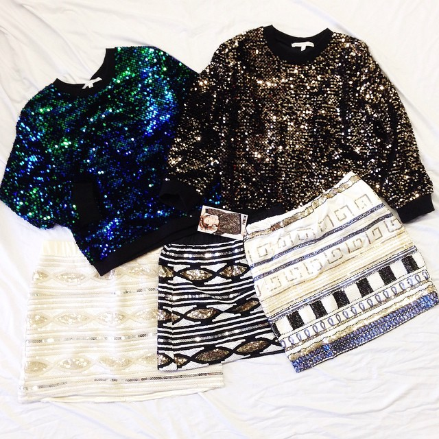 SEQUIN FOR THE HOLIDAYS! AVAILABLE AT WWW.SHOPPUBLIK.COM