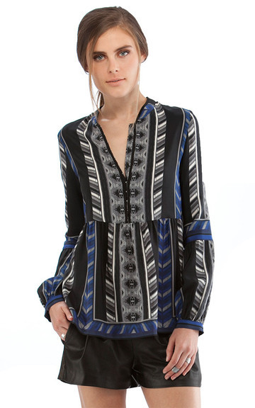 Bell Sleeve Blouse by Cynthia Vincent