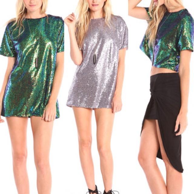 New Sequins for the Holidays! WWW.SHOPPUBLIK.COM