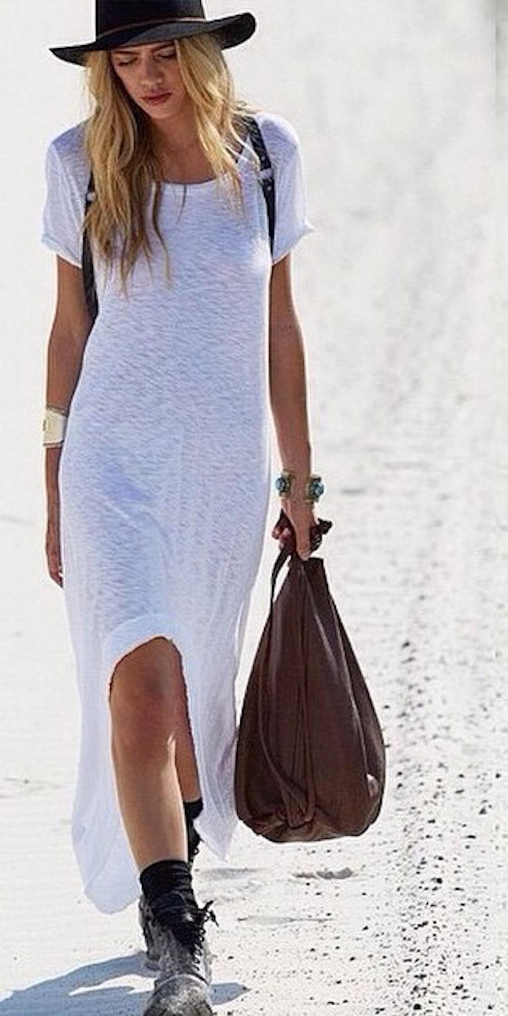 SLUB HIGH LOW TUNIC DRESSES IN 2 COLORS AT WWW.SHOPPUBLIK.COM
