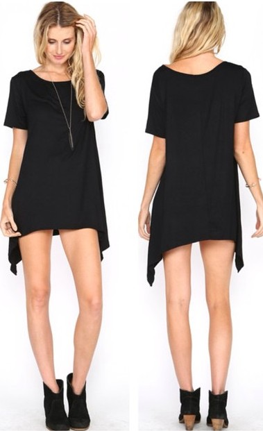 ASYMMETRICAL SHORT SLEEVE TUNICS! WWW.SHOPPUBLIK.COM