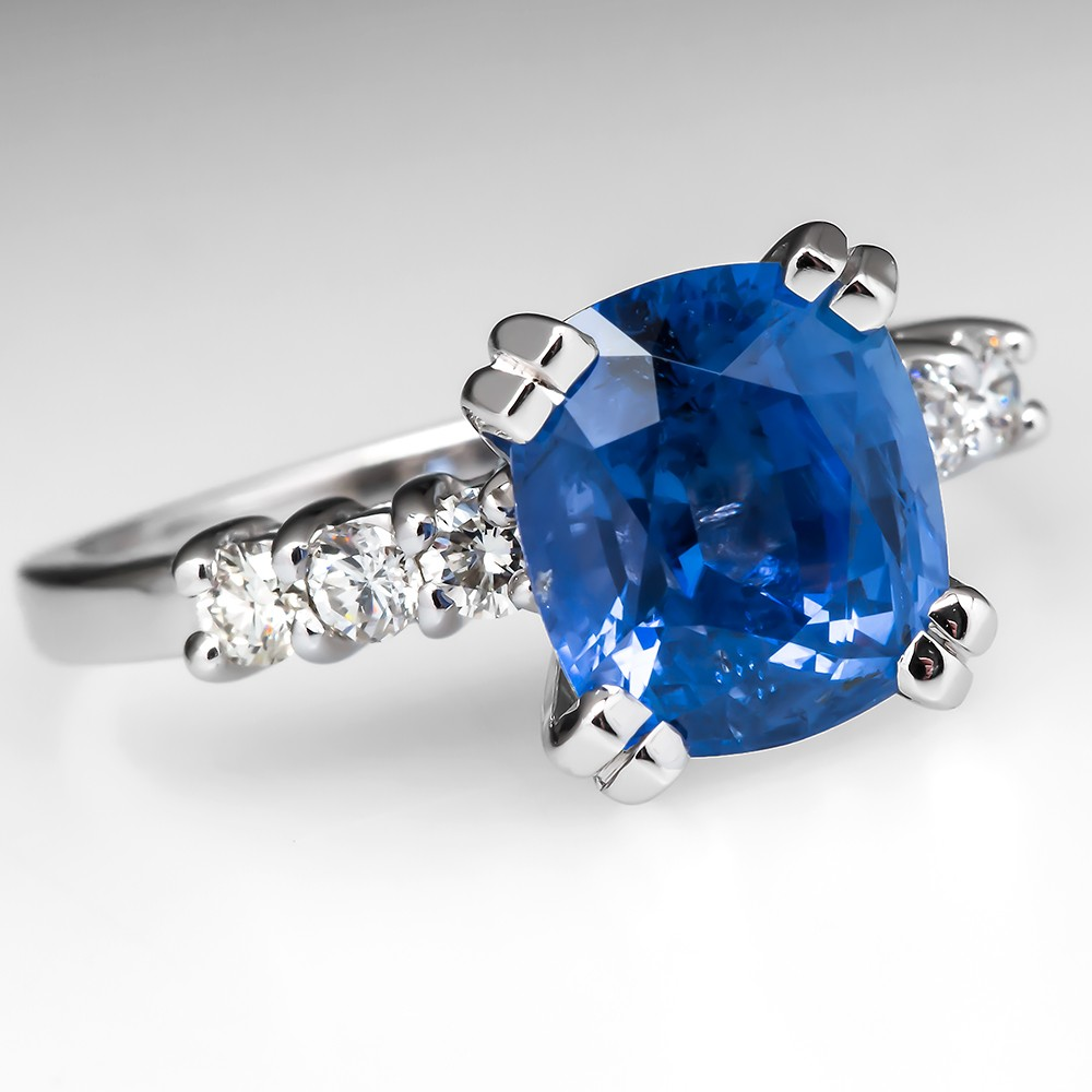 Tiffany Novo Engagement Ring w 2 Carat Cushion