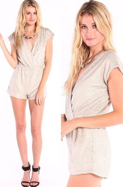 DOUBLE SEQUIN WRAP ROMPERS! WWW.SHOPPUBLIK.COM