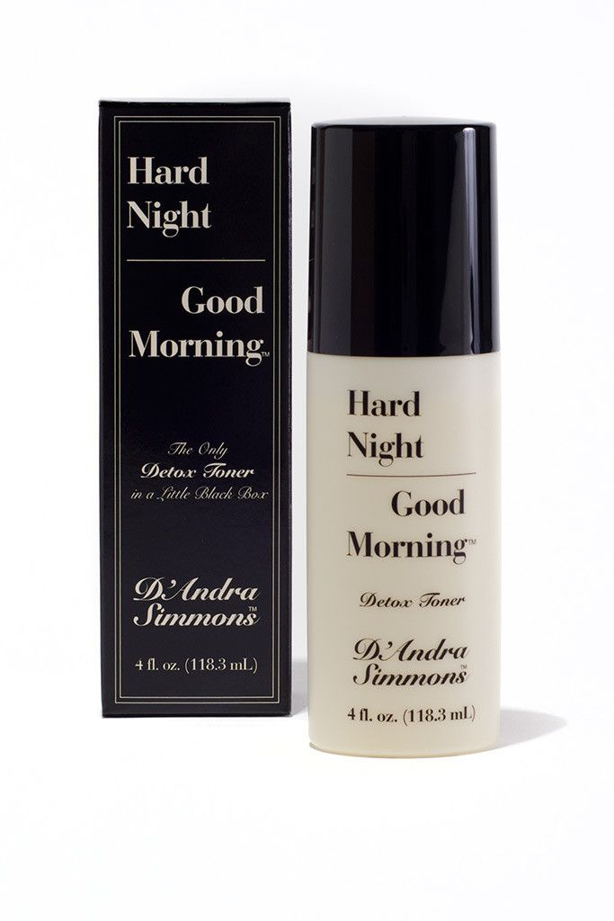 Hard Night Good Morning Detox Toner