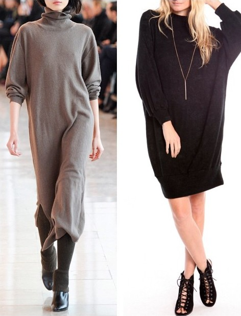 GET THE LOOK! Long Sleeve Sweater Dresses WWW.SHOPPUBLIK.COM