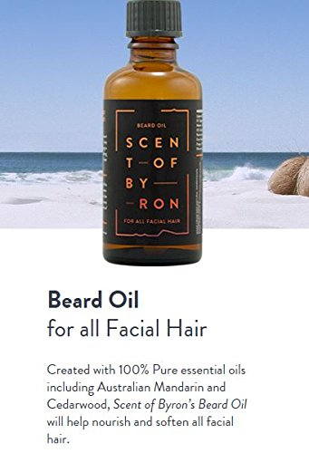 Scent of Byron Beard Oil - For all Facial Hair