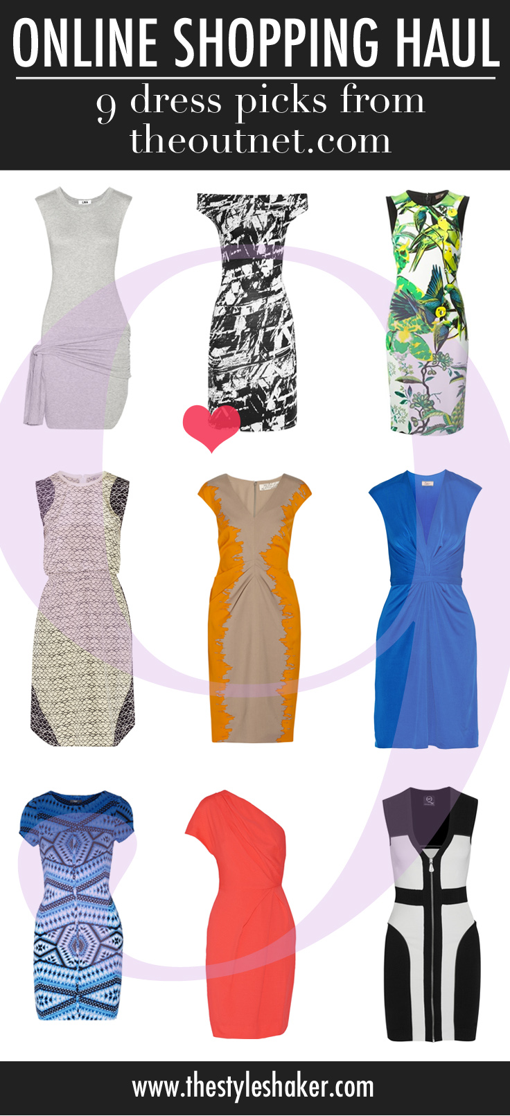 9 dresses we've added to the shopping list, courtesy of theoutnet.com